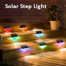 solar deck lights outdoor waterproof led