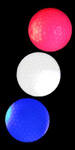 New Glow Dark Golf Ball Resettable Time LED Golf Ball