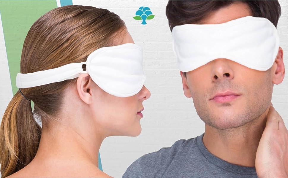 Cottonique Hypoallergenic Sleep Eye Mask
