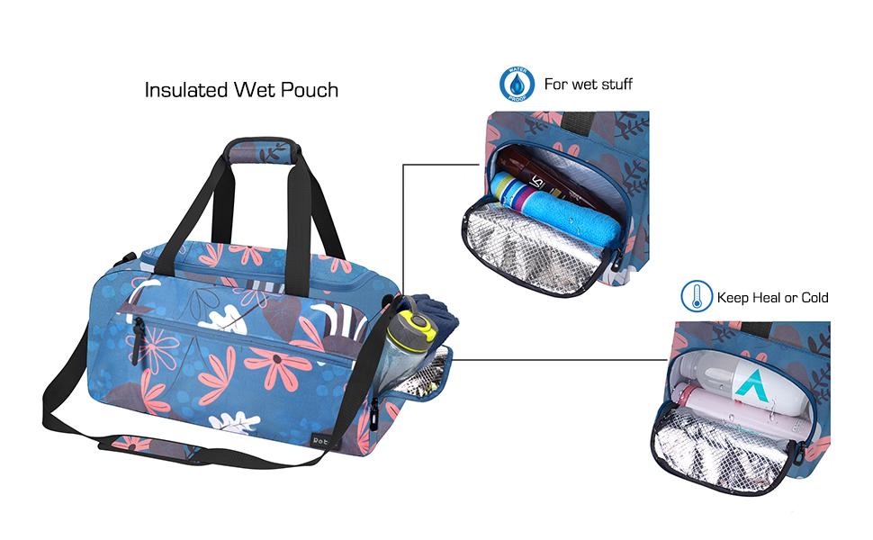 rotot insulated gym bag