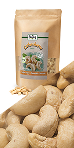 cashew heel rauw zonder zout zoutvrij niet gesteund meel walnoten helften stukjes noten zaden omega