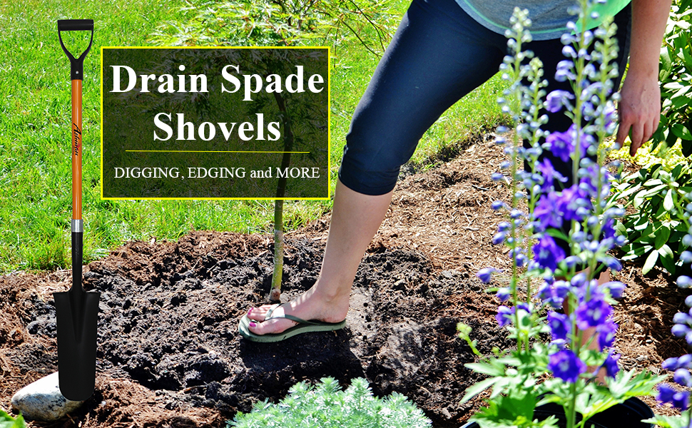 Drain Spade shovels