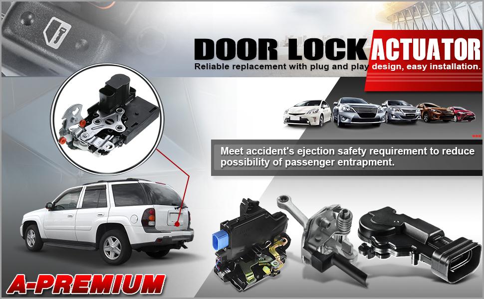 5PCS for Toyota Camry Sequoia Sienna Tacoma Prius CAR DOOR LOCK MOTOR ACTUATOR