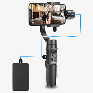 Hohem iSteady Mobile Plus gimbal stabilizers for smartphones