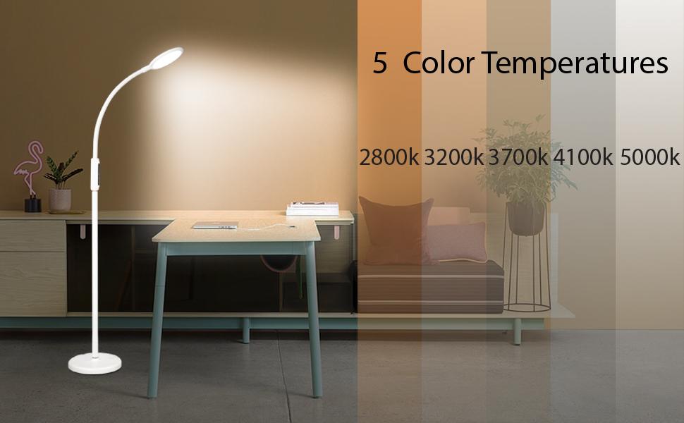 5 Colors Temperatures