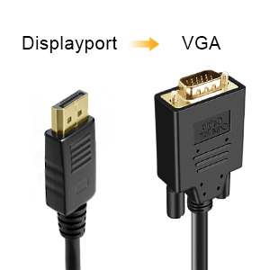 Displayport to VGA
