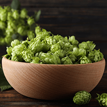 hops in a bowl
