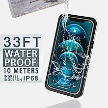 Iphone 12 IP68 WATERPROOF