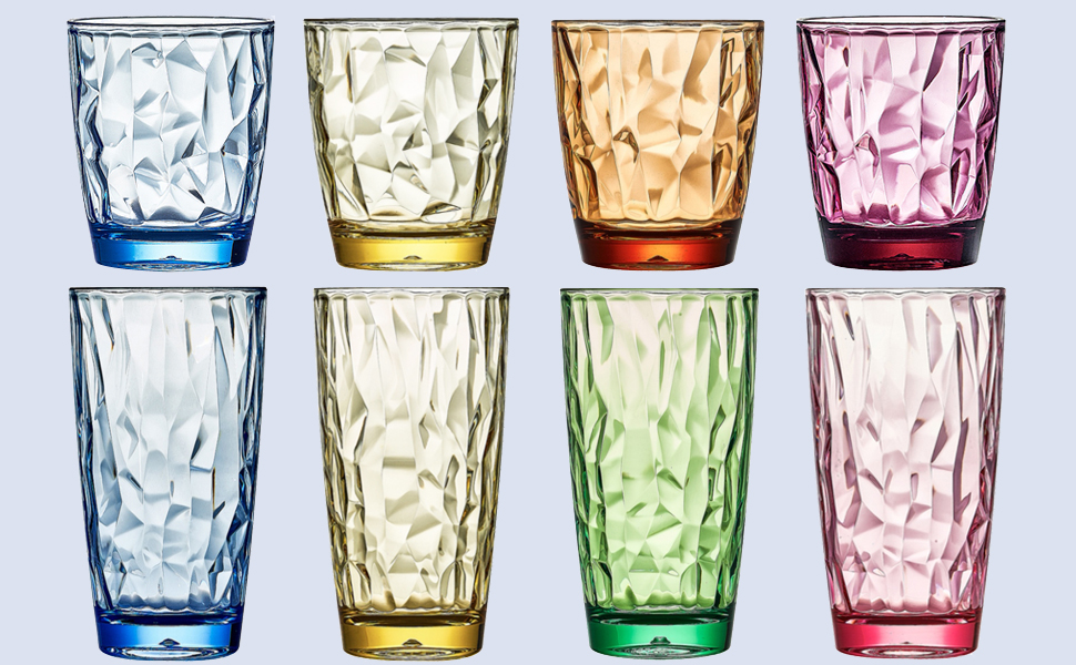 plastic cocktail tumblers for summer