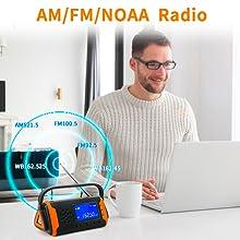 AM FM NOAA Weather Radio