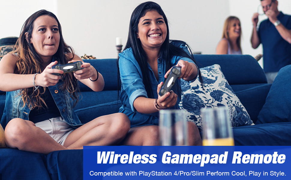 Wireless Controller Playstation 4 PS4 Remote Gamepad Joystick PS4 Pro Slim Dualshock Audio jack Blue
