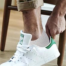 White Cotton Mid Ankle Socks