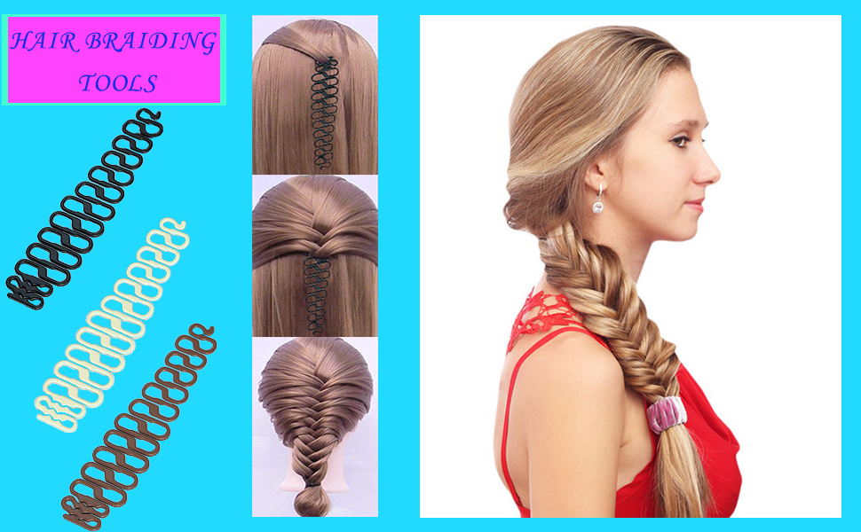 Hair braiding tool