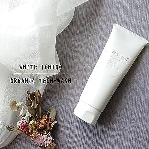 WHITE ICHIGO オーガニック テック-ウォッシュ