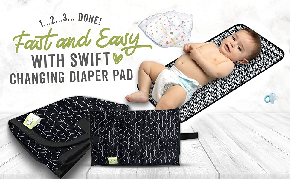 diaper changing mat pad portable travel baby pads for bag change station changer waterproof foldable