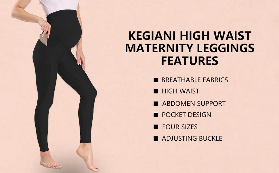 Women Stretch Leggings, Over Belly Maternity Leggings, Women Full Length Pants