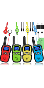 walkie talkies 4Pack