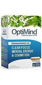 optimind alternascript mental energy brain nootropics cognition brain boost clear focus supplement
