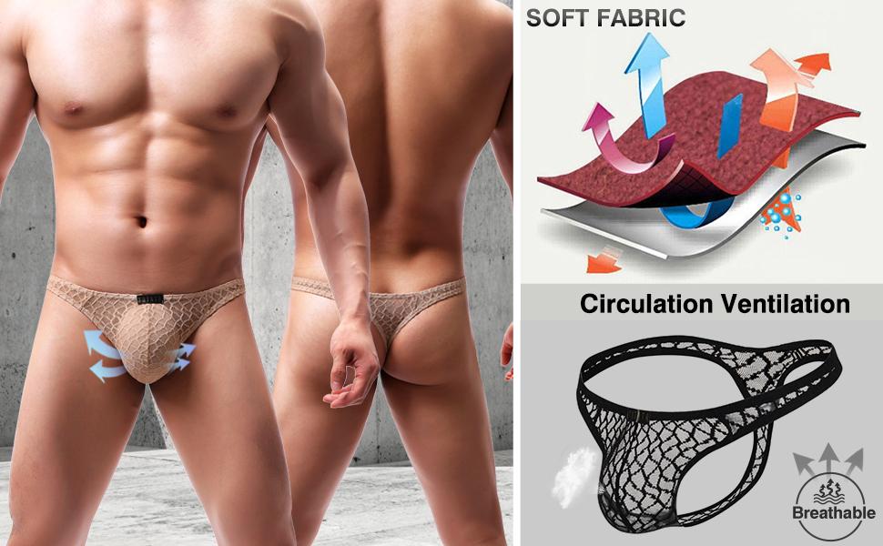 Sexy Lace G-String thong underwear soft mesh low rise swimwear