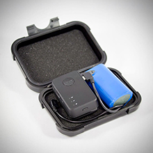 MiniMag Plus Magnetic Case With GPS Tracker and External Battery