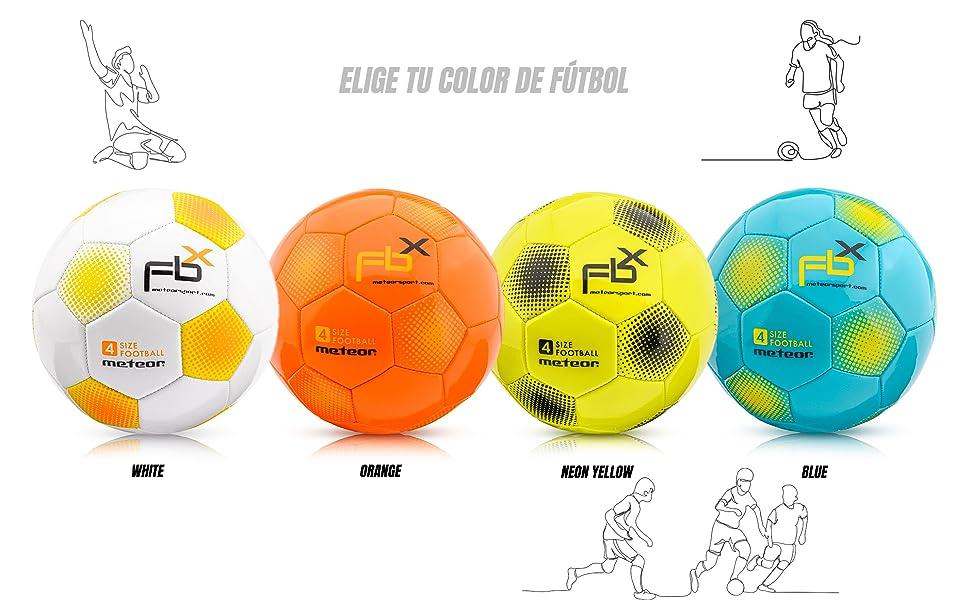 Balón de Fútbol para Niños y Juventud y Adultos Tamaño 5 4 3 1 para Ejercicio Al Aire Libre Juego