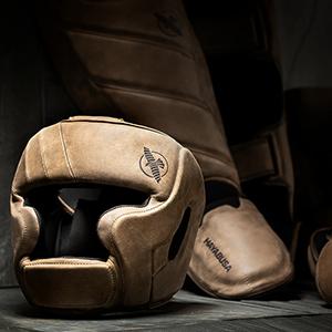 Head Gear, Shin Guards, Pads, Leather