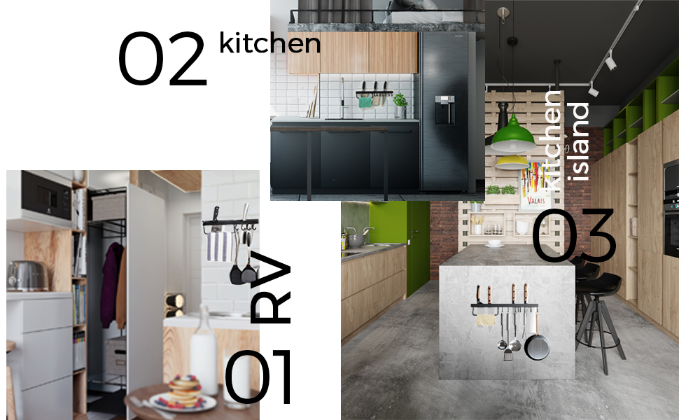 pots and pans organizer  hanging pot rack   kitchen hooks pot racks for kitchen wall mounted
