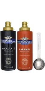 Ghirardelli sauce duo