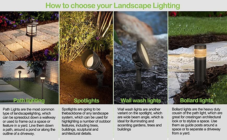 How to Choose Your Landscape Lighting