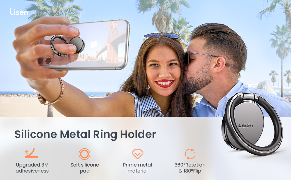 cell phone metal finger ring holder thin popgrip expanding stand 360 phone ring holder finger