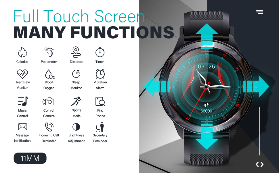 Multi Functions Smartwatch