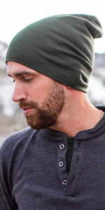 MERIWOOL Cuffed Beanies have 250g/m2 of wool, keeping you cool in the summer and warm in winter