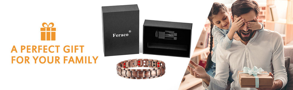 copper jewelry for men gifts