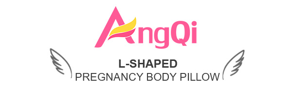 AngQi L-Shaped Pregnancy Body Pillow