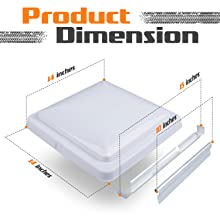 vent cover dimensions