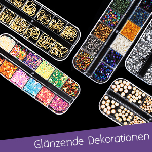 Nail Art Dekoration Zubehör Set
