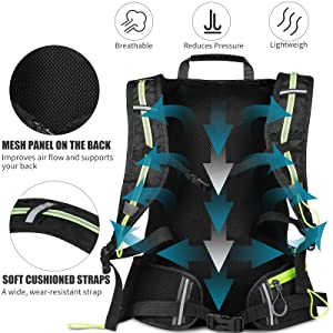 breathable backpack