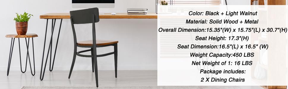 Chairs' Dimension