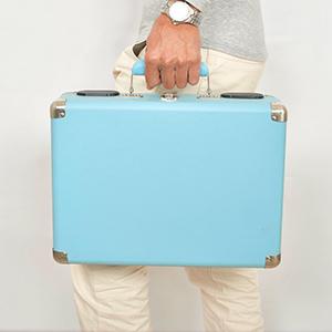DIGITNOW! Portable Belt Drive - Tocadiscos de estilo retro de 3 ...