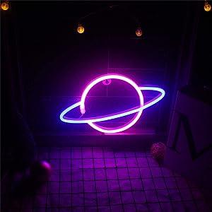 lightning neon light