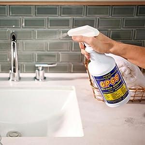 bathroom cleaner