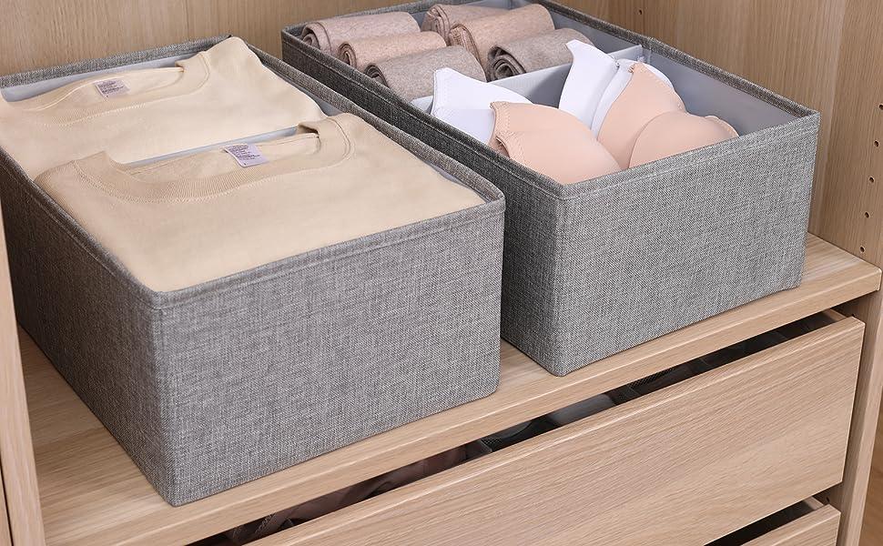 Drawer storage organizer cube