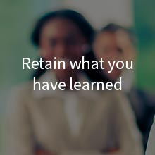Retain what you have learned