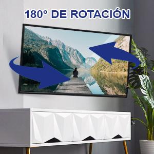 RENTLIV Soporte de Pared de Full-Motion TV para la mayoría de los televisores de 26