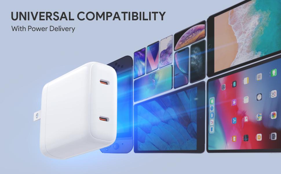 USB C cargador de pared