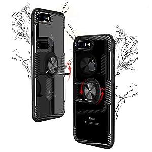 SORAKA Funda para iPhone 7 Plus/8 Plus,Transparente Carcasa con ...