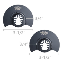 HCS Semi-circuler blades