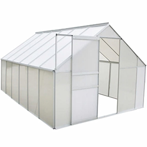 Festnight Invernadero Estructura de Aluminio 430 x 250 x 195 cm: Amazon.es: Hogar