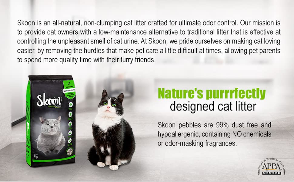 skoon all natural cat litter about
