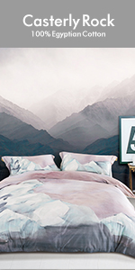 pink rock duvet cover
